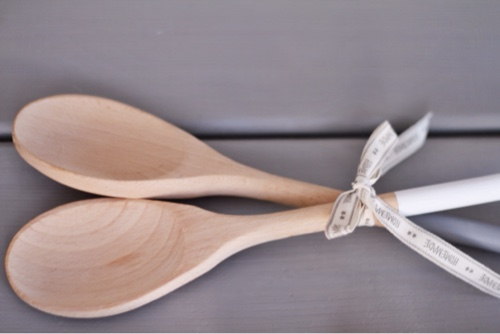 Hand Painted Wooden Spoon