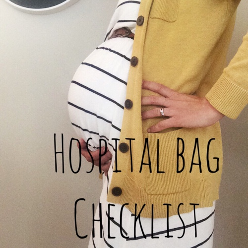 Ultimate hospital bag check list