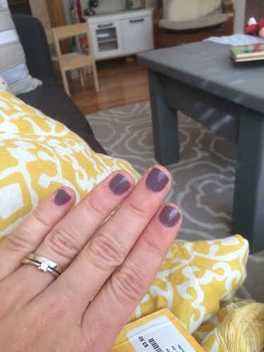39 weeks pregnant - at least my nails are done