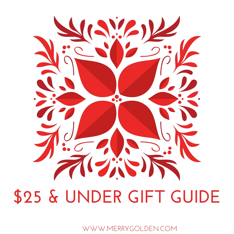 $25 & under gift guide