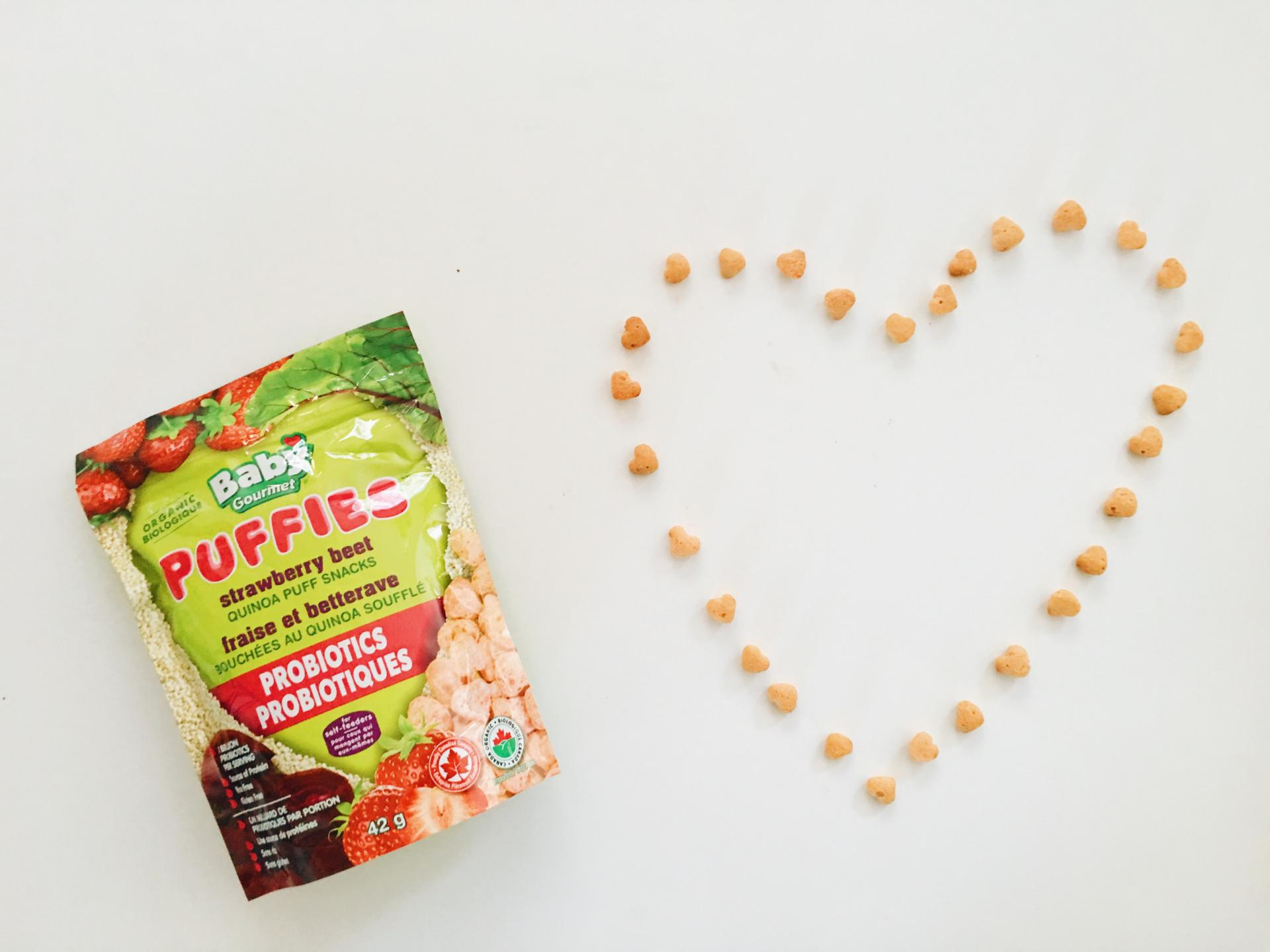 BABY GOURMET'S (PROBIOTIC-FILLED) SNACKS FOR LITTLES!